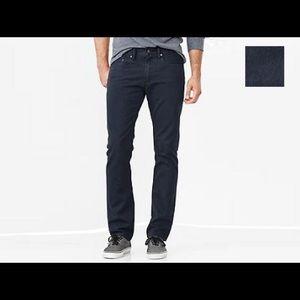 Blue Corduroy Gap Straight fit pants